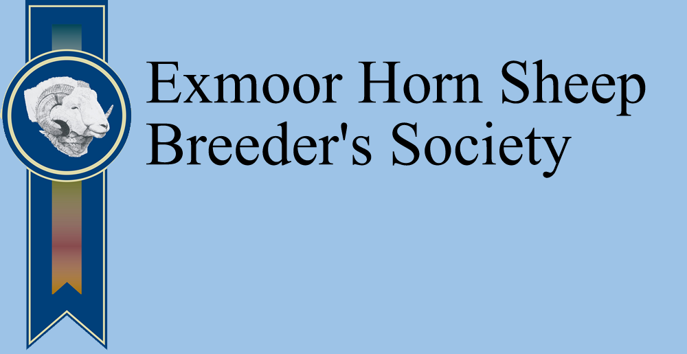 Exmoor Horn Sheep Breeder's Society